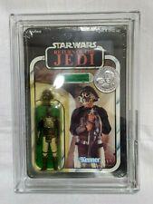 Star wars ROTJ POTF Lando (Skiff Guard) Tsukuda Seal General Coin AFA 85Y-NM+