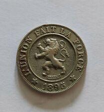 10 centimes 1895 Leopold 2 (736.218exp. TOP Qualité !)
