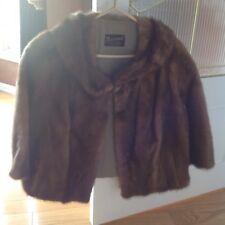 Vintage custom made mink jacket