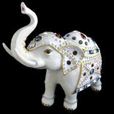 Isabella Adams Americana Parade Elephant w/ Swarovski Crystals & Enamel - Large