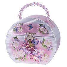 Childrens Musical Jewelry Music Box Ballerina Fairy PNK