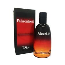 Christian Dior Homme Fahrenheit After Shave Lotion 100ml/3.4oz New & Sealed