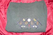 Beautiful New ScottishIsle Green Golf Sweater Medium