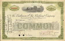 Prince & Whitely issued stock certificate share