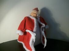 Vintage Mrs Clause Christmas Tree Topper standing figurine