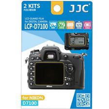 JJC LCP-D7100  polycarbonate LCD Screen Protector For NIKON D7100 D7200 2P