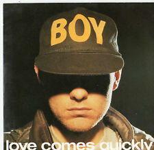 "Pet Shop Boys - Love Comes Quickly 7"" Single 1986"