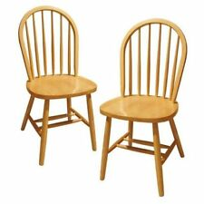 Solid Wood Classic Kitchen Dinner Table Dining Chairs Set Of 2 Fully Assembled