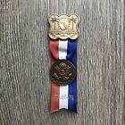 1972 Election President RICHARD NIXON DNC Delegate Pin Badge Obsolete Miami FL