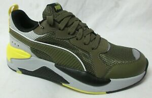 Puma X - Ray Forest Green  Men Walking Shoes 8.5
