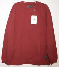Duck Head Mens Rosewood Red Cotton Pullover Crewneck Sweatshirt NWT $98 Size XL