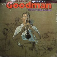 Jazz Sealed Lp Benny Goodman Together Again On Bluebird