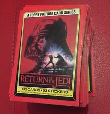 1983 Topps Star Wars Return of the Jedi Complete 132-Card Series 1 Set #1-132