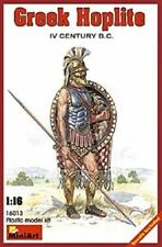 Miniart 16013 1:16th scale Model figure kit Greek Hoplite IV century B.C