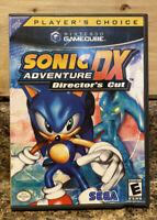 Sonic Adventure DX: Director's Cut (Nintendo GameCube) - CIB W/Manual/Insert
