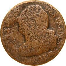 L7183 RARE Constitution 2 Sols Louis XVI Faisceau 1792 BB FrançAis-> Faire offre