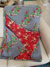 Sundance Quilt Queen Size Reversible 100% Cotton Floral