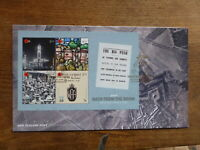 NEW ZEALAND 2018 100th ANNIV. WWI  4 STAMP MINI SHEET FDC FIRST DAY COVER