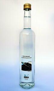 Weintraubentresterbrand, Schnaps, Destillat, 0,5 Liter Flasche