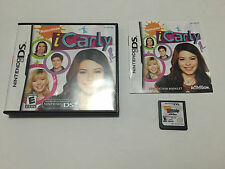 iCarly (Nintendo DS, 2009) Complete Tested