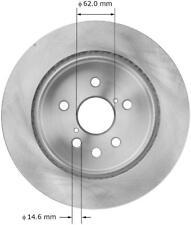Disc Brake Rotor-Convertible Rear Bendix PRT5940