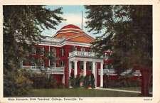 Farmville Virginia State Teachers College Main Entrance Antique Postcard K86705