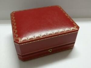Vintage Cartier Watch Empty Box CO1017 With Mini Booklet (BX013)