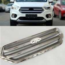 Auto Front Bumper Grill Mesh Grille Cover Exterior For Ford Kuga Escape 2017