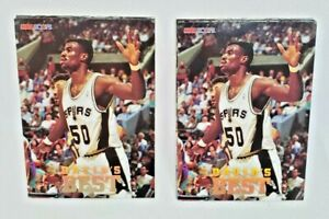 2 Complete Sets! - 1993 Skybox NBA Hoops David's Best Inserts - David Robinson