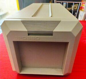 Vintage boîte de rangement plastique Posso pour  CD compact discs