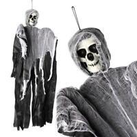 Skull Halloween Hanging Ghost Haunted House Grim Reaper Horror Props Decor EN