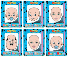6 Magnetic Hairy Harry's - Pinata Toy Loot/Party Bag Fillers Wedding/Kids