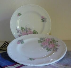 Wedgwood Romance Rose Mayfair Collection Bread & Butter Plate X 2