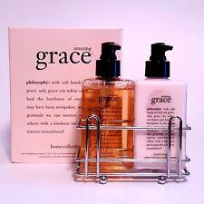 Philosophy Amazing Grace Hand Wash 7.5Oz And Lotion Caddy Set Original Formula!