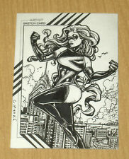 2015 Marvel Fleer Retro base sketch card 1/1 Chris Meeks