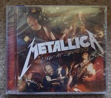 METALLICA live at grimey s cd BRAND NEW SEALED MEGA RARE OUT OF PRINT