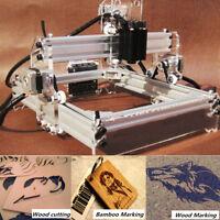 Desktop Laser Engraving Machine DIY Logo Marking Printer Engraver Cutting 2000mW