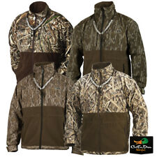 DRAKE WATERFOWL MST CAMO EQWADER PLUS FULL ZIP COAT PULLOVER JACKET