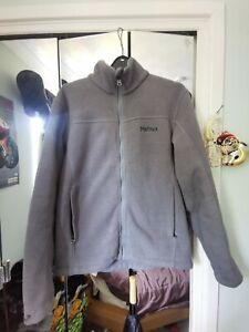 Marmot Men's Windproof Fleece Jacket Small
