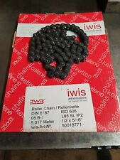 Iwis 1/2 x 5/16 Chain 111pins with connecting link and half link