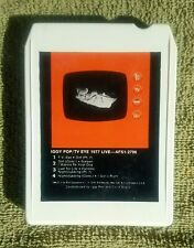 "Iggy Pop ""Tv Eye 1977 Live"" Rca 8-Track Cassette Classic Punk Rock Stooges Rare!"