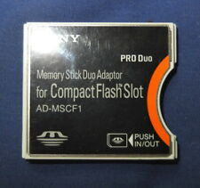 Compact flash CF Type II Adapter AD-MSCF1 to Sony Memory Stick Duo Adapter MS