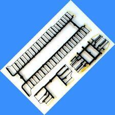 MKT SD40-2 Handrails (BLACK & YELLOW) (Plastic Version)  - Athearn - HO SCALE