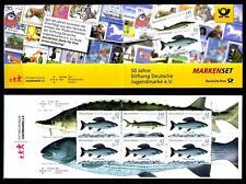 Markenheftchen MH 100**, Jugend 2015 - Süßwasserfische (5 x 3169 u. 1 x 3171)