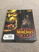 Warcraft III 3 Reign of Chaos PC Big Box No Game Manual Promotion Material
