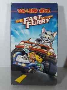 Tom and Jerry: The Fast and the Furry (VHS, 2005)