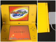 Nintendo DSi LL XL console Yellow Japan N DS  + touch pen japanese version test