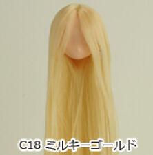 Obitsu Doll 11cm hair implantation head for natural body (11HD-D01NC18) M Gold