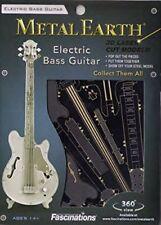 Fascinations Metal Earth Electric Bass Guitar 3D Metal Model Kit