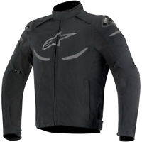 Alpinestars Mens Enforce Drystar Waterproof Motor Bike Motorcycle Jacket - Black